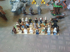 Minifigures of LEGO Star Wars 2011 summer sets (Jeroen_K) Tags: summer star lego wars sets 2011