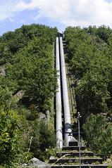 C.H. Seira (Xaf) Tags: electricity electricidad generation energia generacion penstock electricitat seira acciona hidroelectrica enher hidropower tuberiaforzada canonadaforada