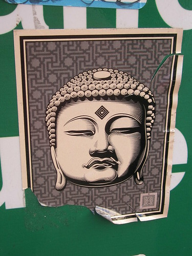 Buddha Sticker Art