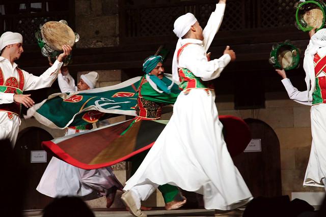エジプト、カイロ、スーフィーダンス