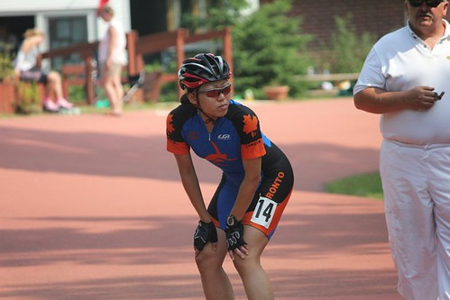 Nationals 2011: Start Of 1000m