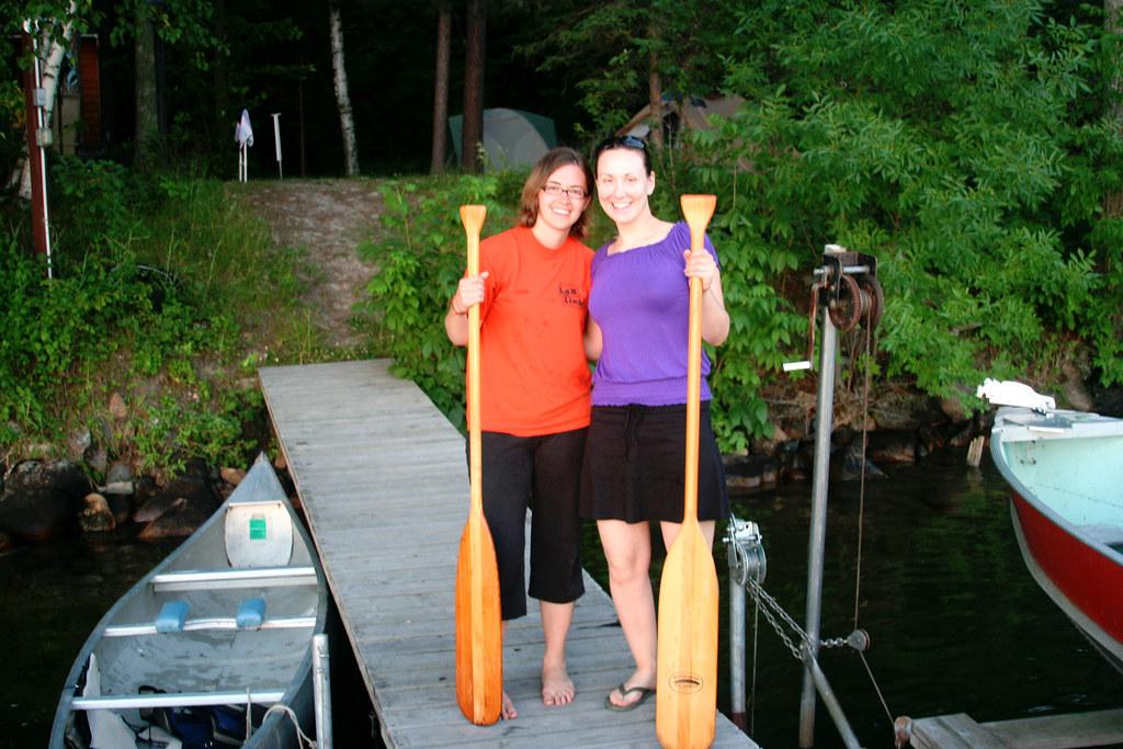 Sara & Le Canoeing