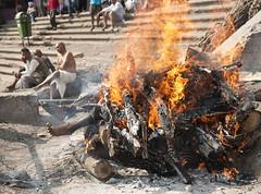 cremation (paul_cohn) Tags: india burning varanasi cremation corpses uttarpradesh manikarnikaghat