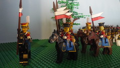 Red Lancers (michaelozzie1) Tags: lego soldiers custom napoleonic
