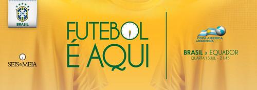 Banner Futebol - Seis & Meia by chambe.com.br