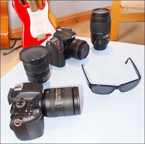 Nikon D7000 D5100 10-24mm 16-85mm 35mm f/1.8 55-300mm