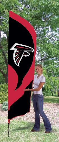 Atlanta Falcons Tall Feather Flag