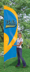 UCLA Bruins Tall Feather Flag