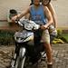 Alugamos uma moto para desbravar Lombok