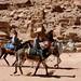 Transportando turistas em Petra
