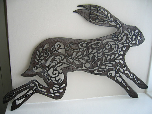 Metal hare 1