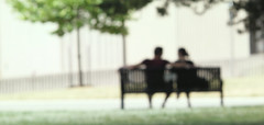 [Free Image] People, Couple, Chair / Bench / Sofa, 201107190500
