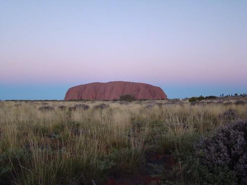 Luz y Color, Uluru y atmósfera