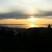 Pôr-do-sol no Lago Bodensee