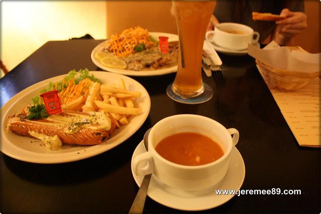 Post Cafe @ Carnarvon Street - My Order