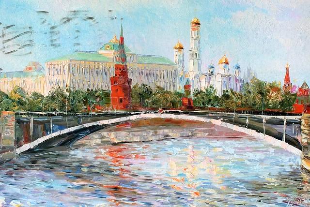 Moscow. Kremlin by Vlad Kravchuk
