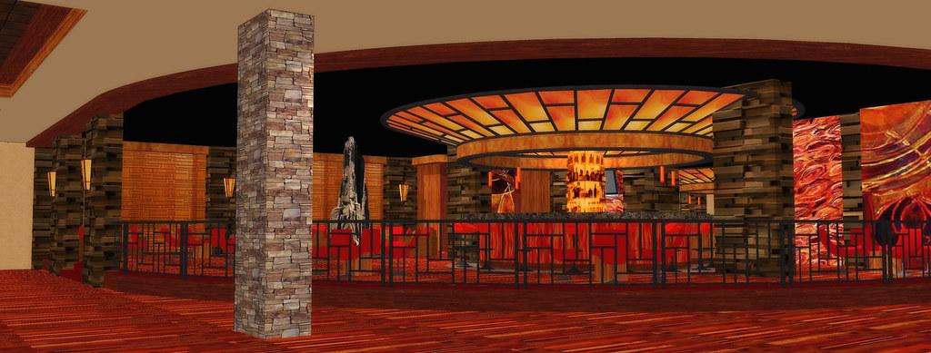 Conceptual Casino Design   Interior Casino Rendering   Casino Decor Design   Casino Bar Design   Interior Casino Bar