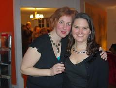 Our Heroine Gabrielle with Karen at BAK!
