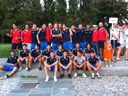 Dado e la nazionale under18 di hockey