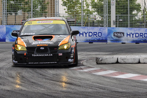 Richard Boake, race winner, Canadian Touring Car race #8, Toronto
