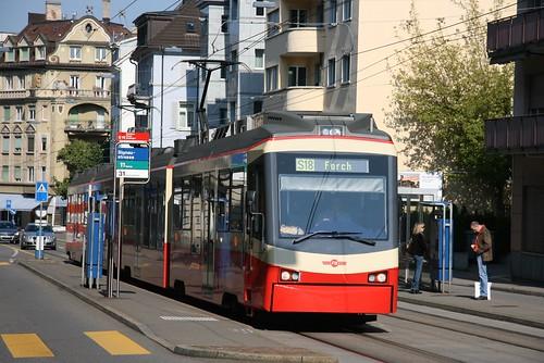 Forchbahn (Zurich) Be 4-6 (2004-5) Signaustrasse 1