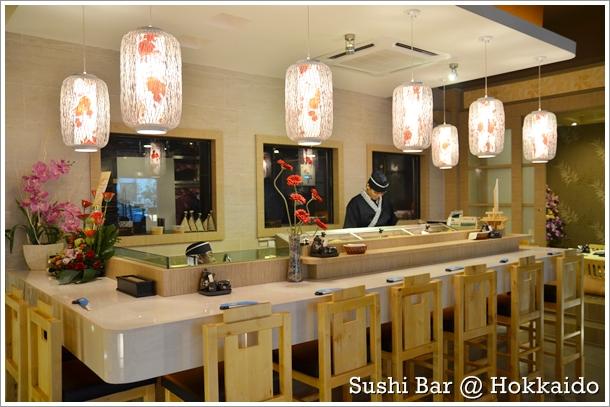 Sushi Bar @ Hokkaido Japanese Restauratn