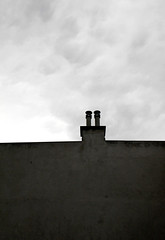 Urban Minimalism (CoolMcFlash) Tags: vienna wien chimney sky urban blackandwhite bw white black building monochrome silhouette wall clouds canon eos sterreich wand himmel wolken haus stadt sw minimalism simple tamron minimalistic gebude schwarz mauer weis autria einfach rauchfang minimalistisch umriss 18270 60d b008 gettyimagesstilllife gettyimagessalq3 gettysalq3