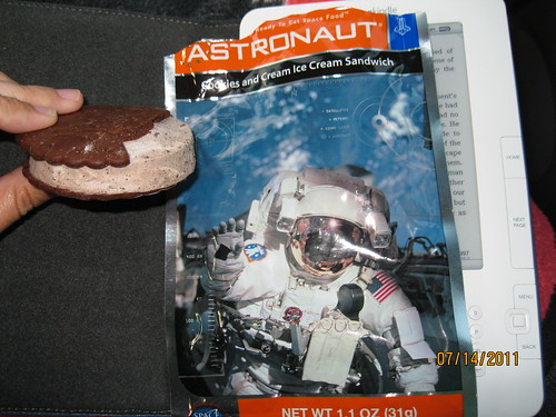 7/14/11: Nothing better than freeze dried ice cream.