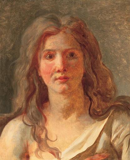 Jacques-Louis David, Tête de femme (1780)