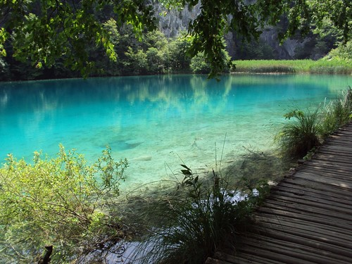 Plitvice Lake in Croatia, Europe