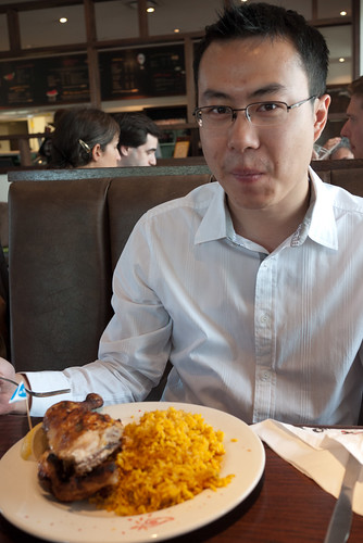 Half Chicken with Spiced Rice @ Nando's