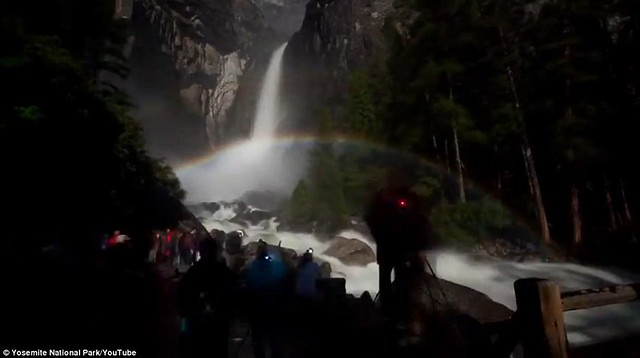 Dazzling arc of colour lights up night sky at Yosemite National Park  8