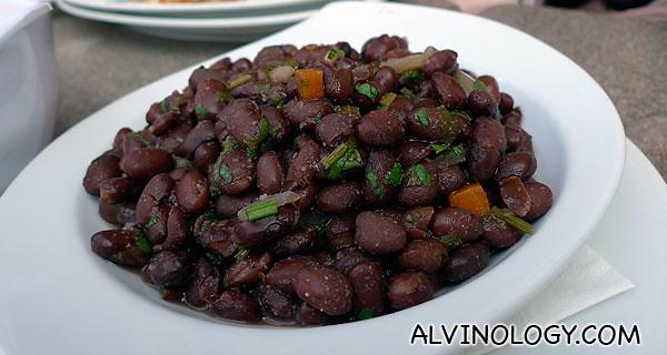 Some savoury beans