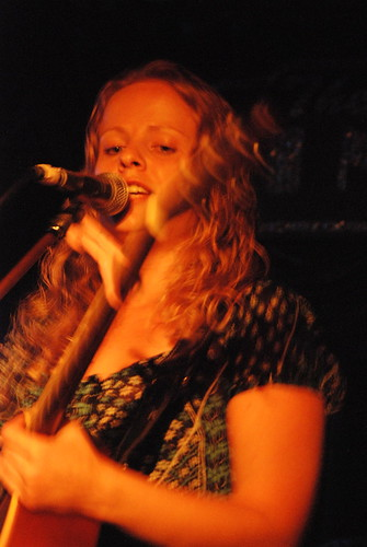 Alice Wallace at The Mint who will soon be in the studio with a slew of country songs