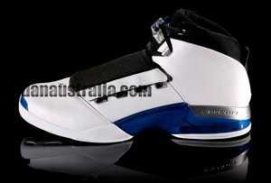 Air Jordan 17 White Black Blue