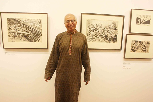 City Culture - Chittaprosad's Retrospective, Delhi Art Gallery