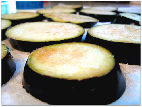 J Baked Eggplant Rounds