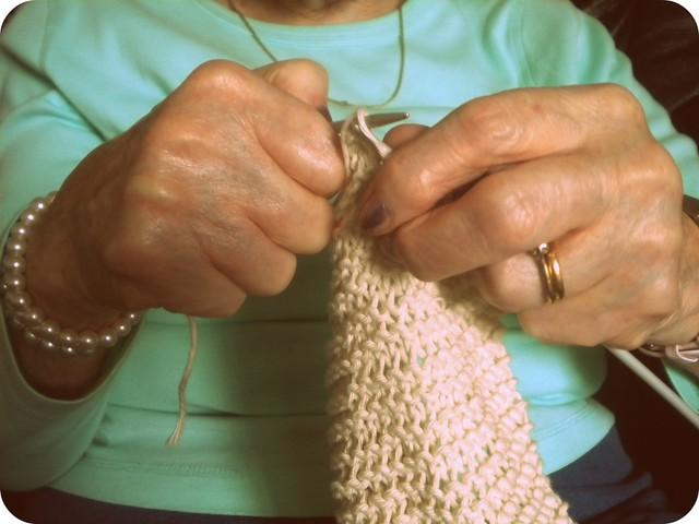 Nana's hands