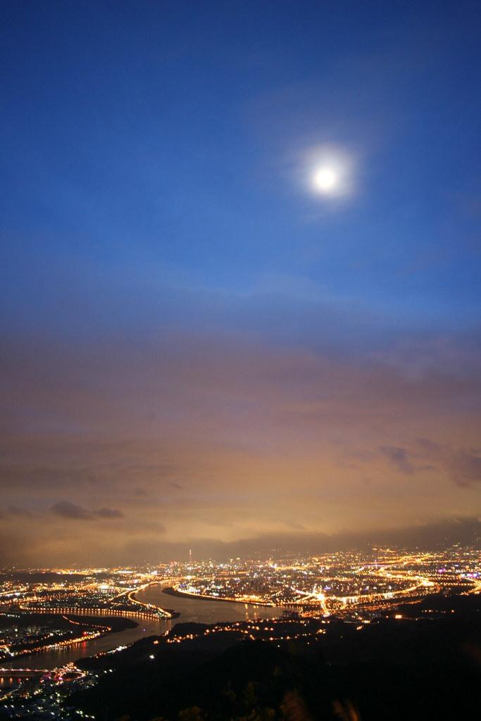 20110612觀音山好漢嶺夜景