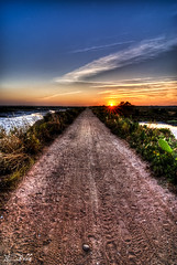 Endless road...to infinity (RBXposure) Tags: sunset landscape faro tokina algarve formosa ria hdr riaformosa 1116mm maravilhasdeportugal