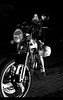 Mis dos niñas (Rubén Otero) Tags: bw girl bike naked mujer nikon chica flash sigma motorbike moto motorcycle motor suzuki rossi valentino superbike d300 gs500 neska 18200mm agv motorgirl