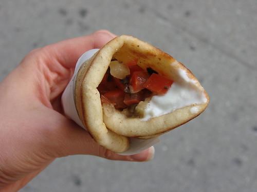 Veggie Pita from Souvlaki GR