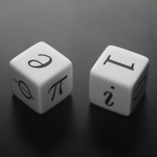 Phi, la identidad de Euler y los dados matemáticos
