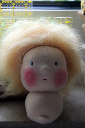 doll making class.