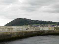 Cloudy Wednesday afternoon in Bray harbour