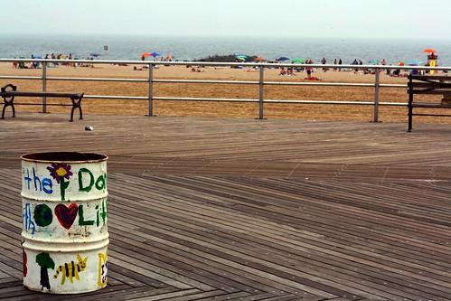 Don't litter!