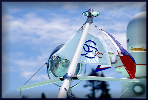 boat yacht flag spotlight chrome mast rendezvous varnish chriscraft burgee anchorlight scavengerchallenge july2011 scavchall portorchardyachtclub scavengerchallengejuly2011 chriscraftrendezvous