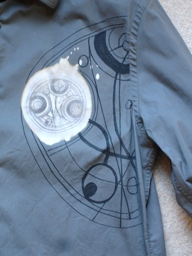 Dr. Who Dress Shirt - Close Up