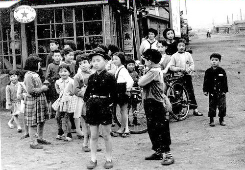 Japanese children 1957 by asachitose