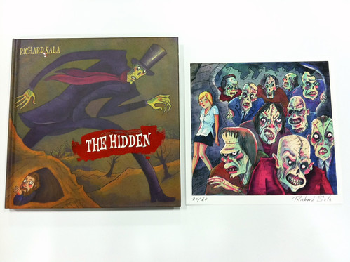 Richard Sala's The Hidden and bonus print